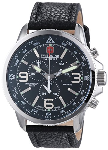 Amazon.com: Swiss Military Hanowa Mens Watch Arrow Chronograph 06-4224.04.007: Watches