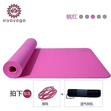 YOOMAT TPE Yoga Mat Ancho Grueso Género Aptitud Mat ...