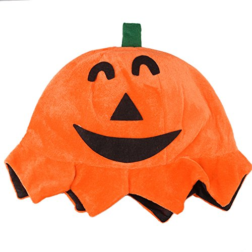 CC Adult Pumpkin Hat with Face / Halloween Fancy Dress Costumes and Funny Party (Halloween Hedgehog Cupcakes)