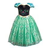 Girl's Short Sleeve Princess Dress up Halloween Christmas Cosplay Costume Fancy Party Summer Dress 2-3 years old