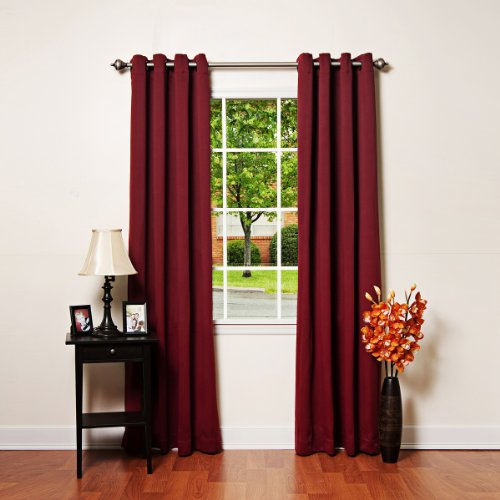 Best Home Fashion Thermal Insulated Blackout Curtains