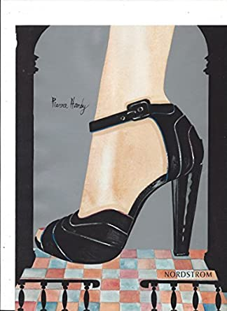 cd183e61ccf IllustratedPRINT AD For Nordstrom Silver Pierre Hardy Shoes Designer ...