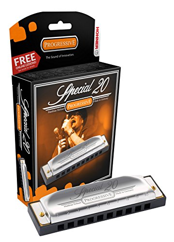 Hohner Special 20 Harmonica, Key Of G Major