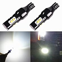 Alla Lighting 2pcs Super Bright 6000K Xenon White LED 3rd Brake ( Center High Mount Stop ) Lights Bulbs replacement for 2003~2014 Chevrolet Chevy Express 1500