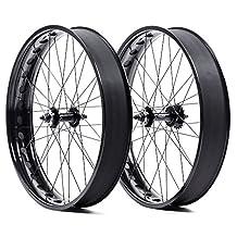 State Bicycle Fat Bike Premium Single Speed Wheelset Front/Rear Black