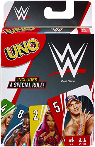 Wwe Birthday Cards (Mattel Games UNO WWE Card)