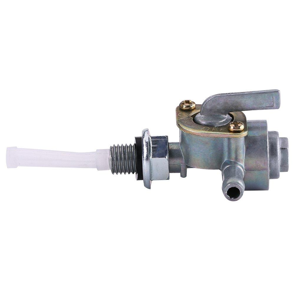 Valve de commutateur de carburant de r/éservoir dessence 1,25 de robinet darr/êt de r/éservoir de carburant robinet dhuile M8