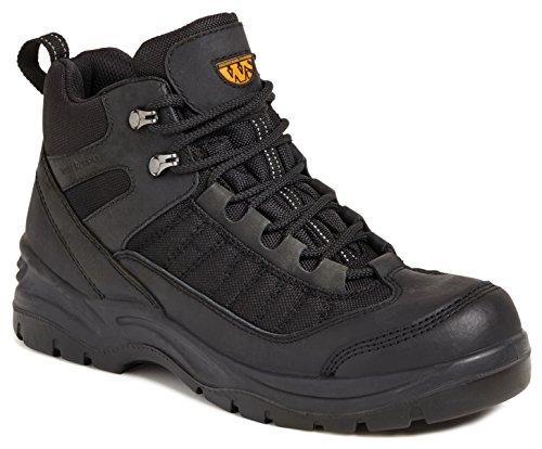 Worksite Herren Ss619sm Sicherheitsstiefel Schwarz (Black)
