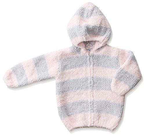 Angel Dear Light - Angel Dear Hoodie (Baby)-Lite Gray/Pink-24 Months-2T