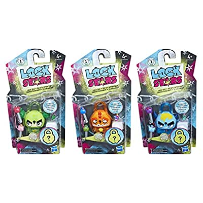 LOCK STARS E4607EP40 TCL Toy, Multi-Colour, Norme, Pack of 3: Toys & Games