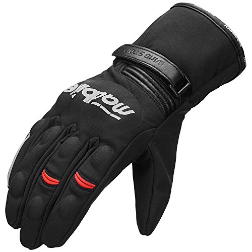 Cold Weather Motorcycle Gloves - 4