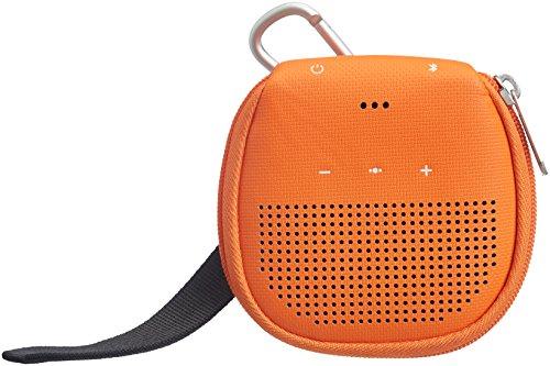AmazonBasics Case with Kickstand for Bose SoundLink Micro Bluetooth Speaker - Orange