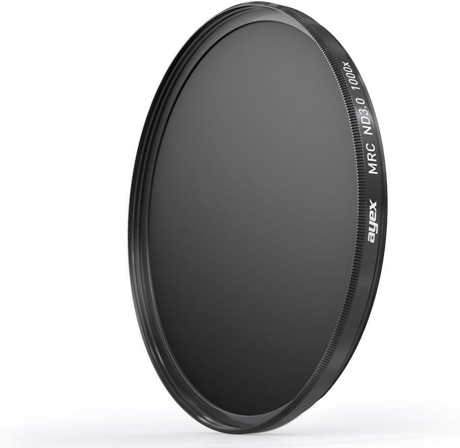 72mm Ayex ND filtri MRC Neutral Density Filter Filtro Grigio nd3.0 SLIM nd1000