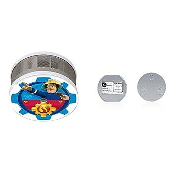 Smartwares Fsm 16400 Rauchmelder Feuerwehrmann Sam Fur Das Kinderzimmer Masse Nur 75 X 35 Mm Vds Magnetbefestigungsset Magnetbefestigung Fur