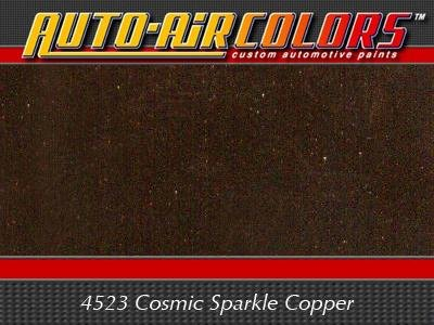- 4 oz Airbrush Cosmic Sparkle Paint Color: Copper