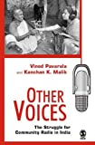 img - for Other Voices: The Struggle for Community Radio in India book / textbook / text book