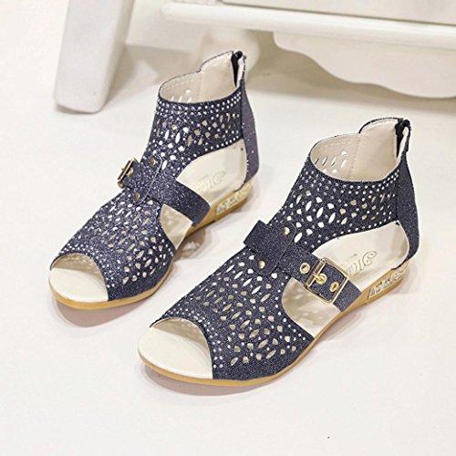 Damen Sonnena Sandalen Keil Sandalen Fisch Sexy Mundpumpen Frauen Mode Schuhe Sommer Aushöhlen Schwarz dOOwAr