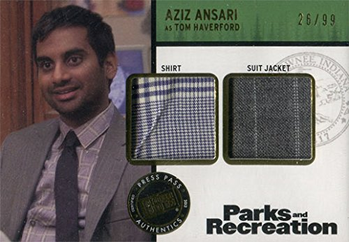 [Parks and Recreation Costume Card RD-AA Aziz Ansari as Tom Haverford #26/99] (Aziz Ansari Costume)