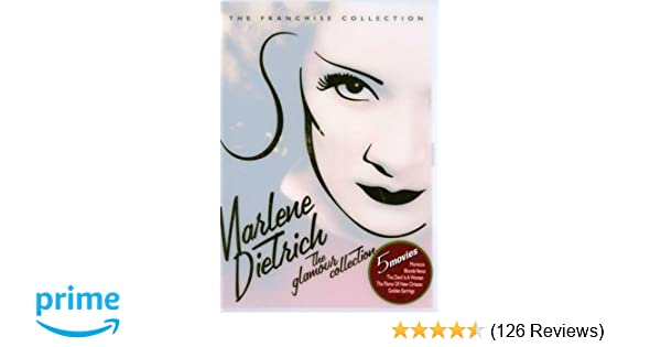 Amazon com: Marlene Dietrich: The Glamour Collection (Morocco