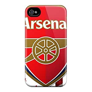 DannyLCHEUNG Iphone 6 Shock-Absorbing Cell-phone Hard Cover Support Personal Customs Beautiful Sports Soccer Team Arsenal Fc Pictures [Qnr10650oEzG]