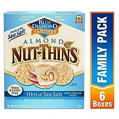 Blue Diamond Almond Nut Thins Cracker Cr...
