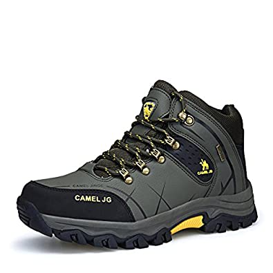 Hiking Shoes Men Non-slip Big Size Outdoor Breathable Leather Climbing Shoe