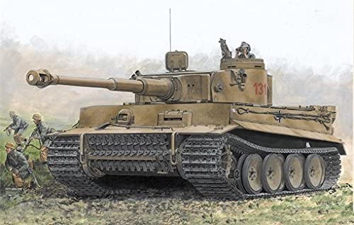 Dragon 7482 SD,Kfz Tiger I Early Production