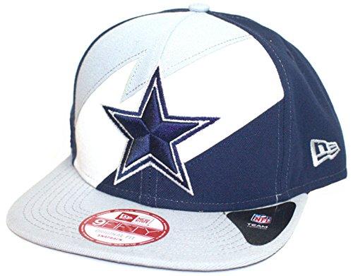 NFL Officially Licensed Dallas Cowboys lightning Snap Back Flat Bill Baseball Hat Cap Lid