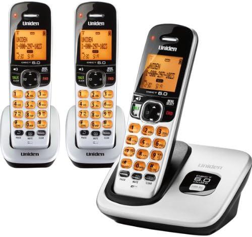 Uniden D1760 1,9 gHz Cordless DECT 6.0 Handset Teléfono + 2 adicionales DCX170 teléfonos inalámbricos: Amazon.es: Electrónica