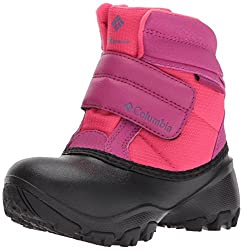Columbia Girls' Childrens Rope Tow Kruser Snow Boot, Punch Pink, Deep Blush, 12 M Us Little Kid