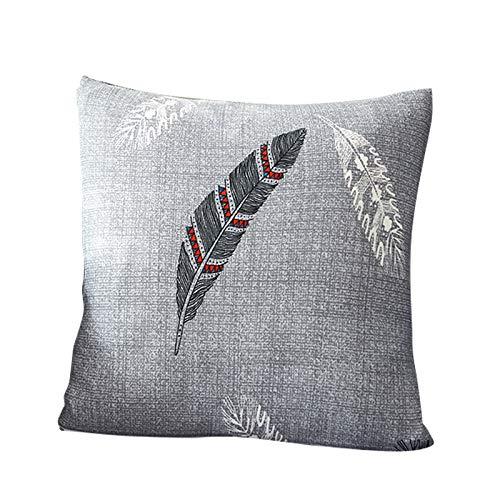 Funda para sofá elástica, antideslizante, estampado de plumas y flores moderno y simple, de 1/2/3/4 plazas, protector para mascotas, pluma, 1pcs ...