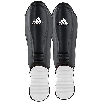 adidas Schienbeinschoner, Hybrid, schwarz weiß Größe M