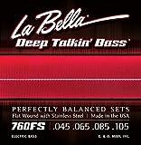 LaBella 760FS Stainless Steel Bass Guitar Strings, Medium