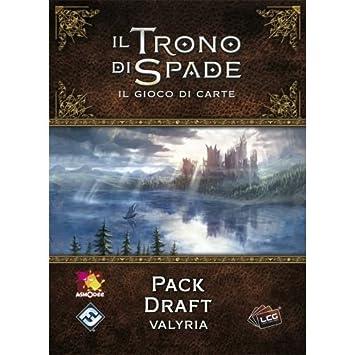 Asmodee Italia-Juego de Tronos LCG 2nd Ed. expansión Pack Draft ...