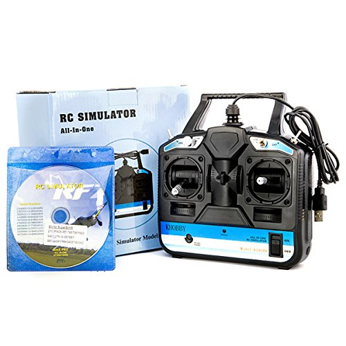 RC Drone Flight Simulator 8CH with Disk Phoenix 5.0 Realflight G7 for RC Multi-copters Helicopter Fixed Wing