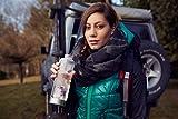 Wellness Gemstone Water Bottle by VitaJuwel w/FREE Wellness Essential Oil