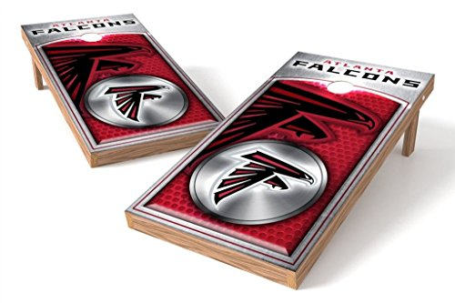 PROLINE NFL 2'x4' Atlanta Falcons Cornhole Set - Medallion Design