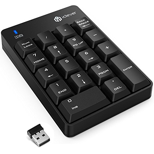 iClever Wireless Numeric Keypad Portable