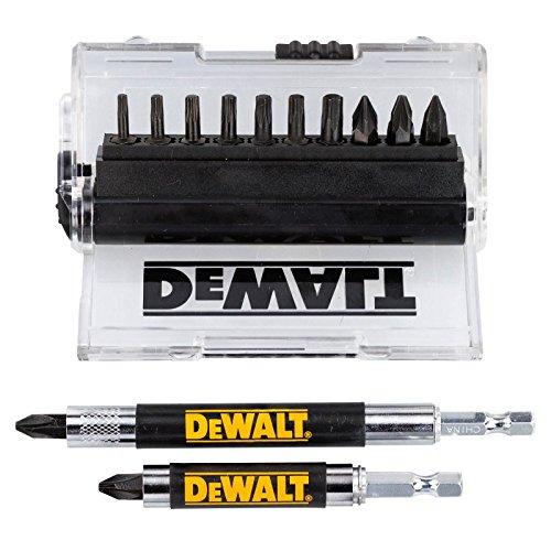 DeWALT DT70574-QZ Schrauberbit-Set 14-teilig inkl. 2x Magnet Bithalter