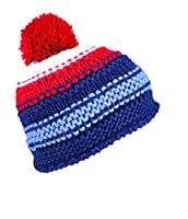 Seirus Innovation Succulent Beanie with Pom Pom Knit Hat For Cold Weather Protection, Navy, One Size
