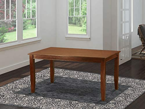 Dudley Rectangular Dining Table 36 x60 in Mahogany Finish