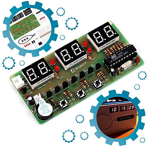 ICStation 6Bits Digital Clock DIY Electronic Assemble