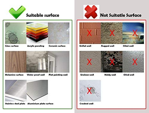 Art3d Self Adhesive Wall Tile Peel and Stick Backsplash for Kitchen (10 Tiles) by Art3d (Image #6)