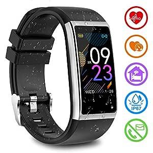 Smartwatch with Monitoreo de presión Arterial, Pulsómetro ...
