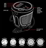 Energizer EN180 Black Small The The World's Smallest Cup Power Inverter