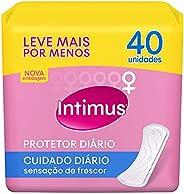 Intimus - Protetor Diário sem Perfume, 40 unidades - Leve 40 Pague 30