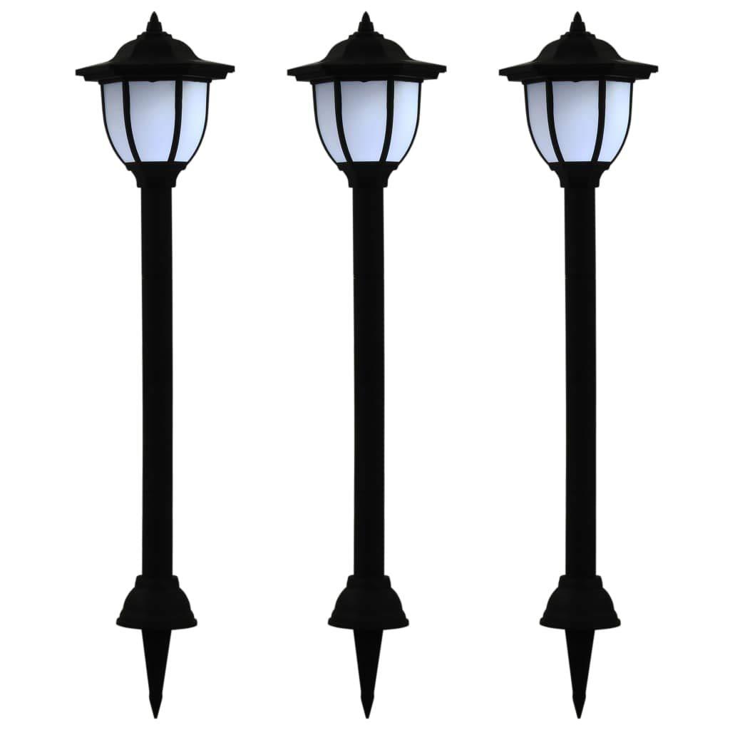 vanno a ruba VidaXL - 3 lampade lampade lampade solari a LED per esterni, colore  nero  seleziona tra le nuove marche come
