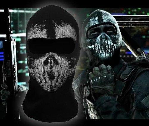 [Tinksky Ghost Balaclava Skull Balaclava Mask Ski Mask Face Mask 04] (Ski Costumes)