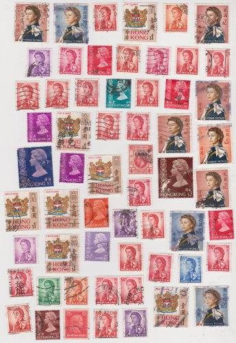 Cancelled Postage Stamps Of Hong Kong