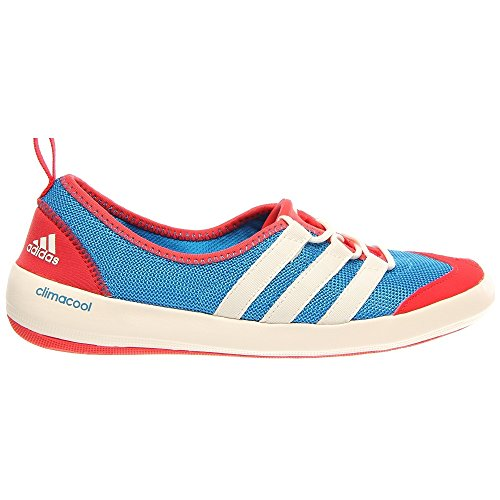 eb6f1538b43ff8 adidas Outdoor climacool Boat Sleek Water Shoe - Women s Craft  Blue Chalk Vivid Red 10 - Buy Online in Oman.